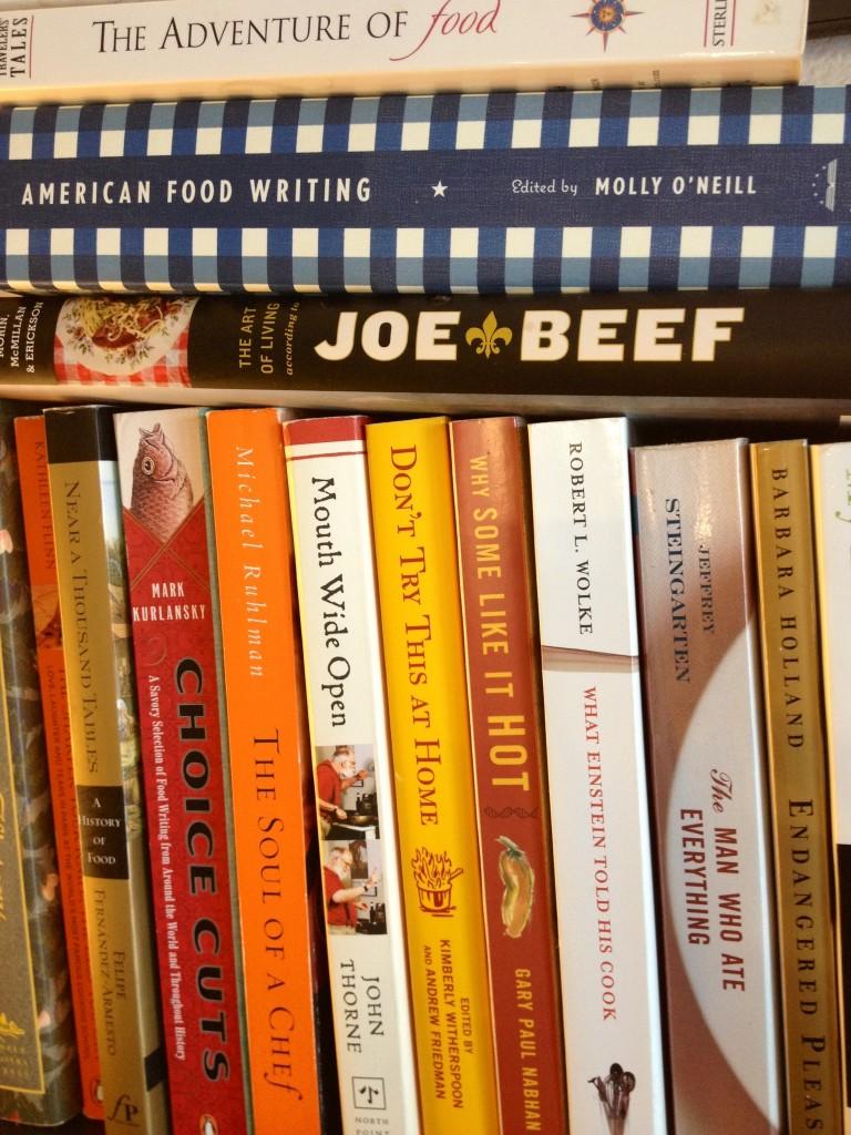 Food Writing Library.JPG